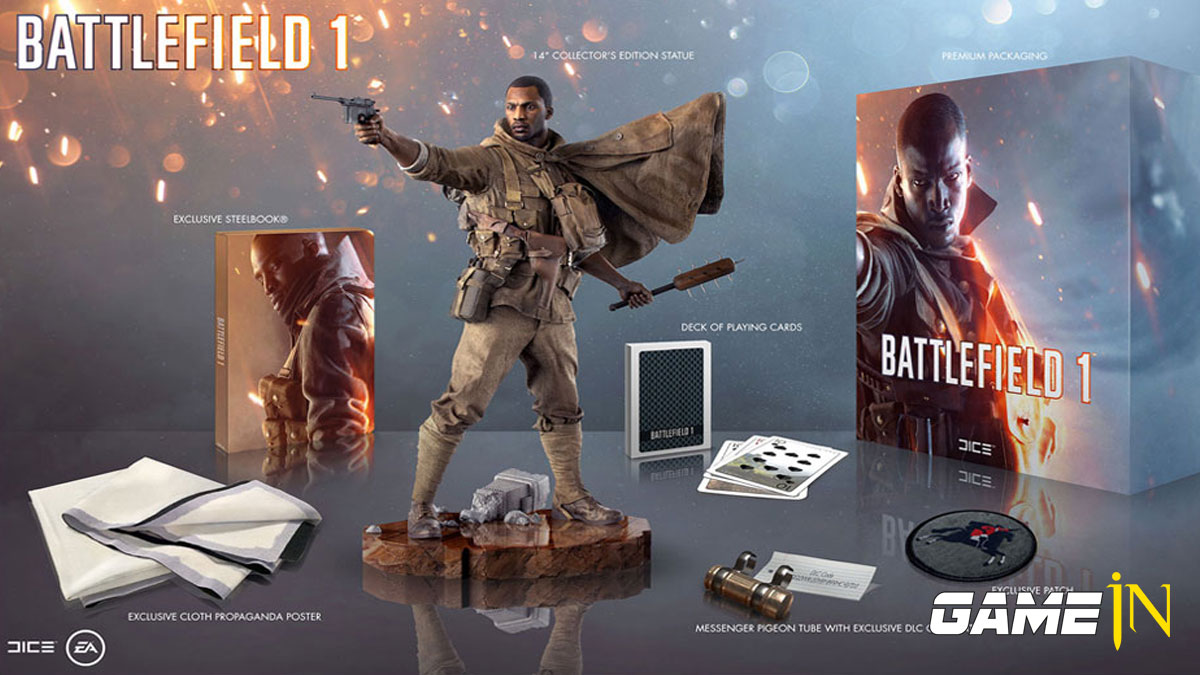 Nieuws over Win een Battlefield 1 Collectors Edition twv € 200