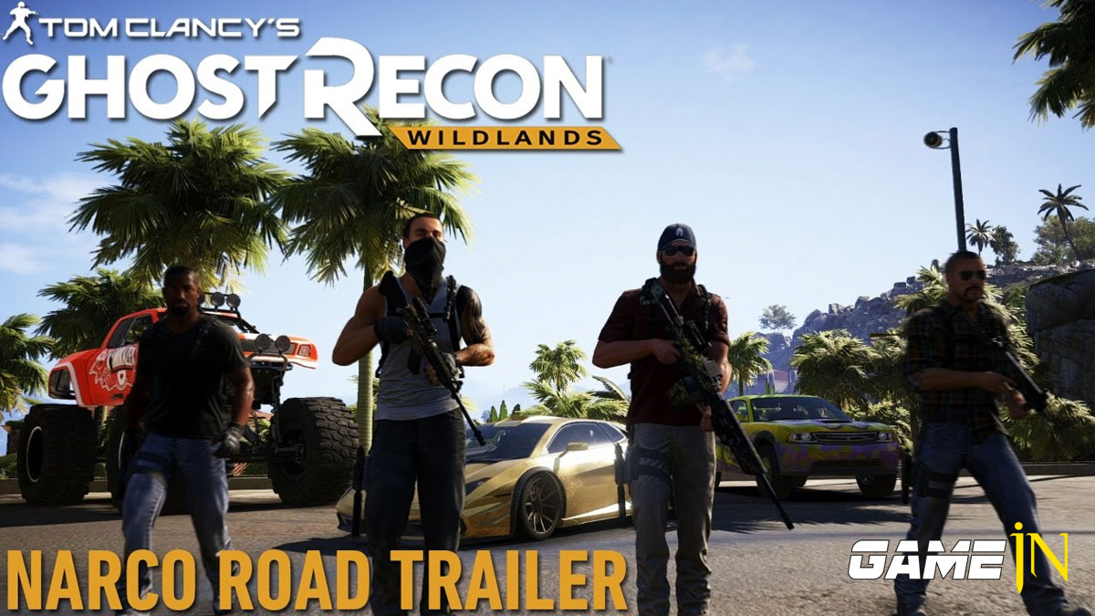 Nieuws over Narco Road uitbreiding Tom Clancy's Ghost Recon Wildlands schittert in trailer