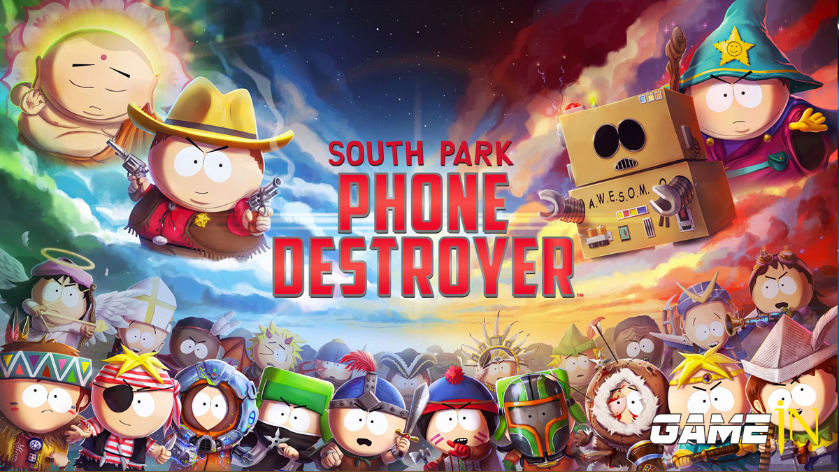 Nieuws over Nieuwe South Park Phone Destroyer game onthuld voor de iOS en Android