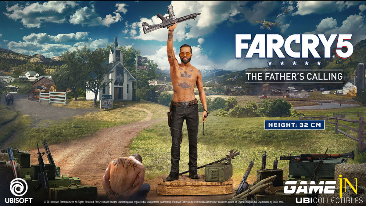Far Cry 5 The Father's Calling figurine nu te pre-orderen Afbeelding 1