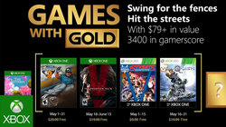 Xbox Live Gold - Mei 2018 gratis games