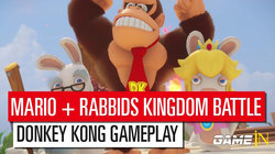 Mario + Rabbids Kingdom Battle Donkey Kong Adventure - Gameplay Trailer