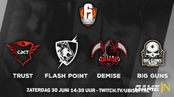 Rainbow Six Siege Benelux League Season 1 offline finales vinden morgen plaats