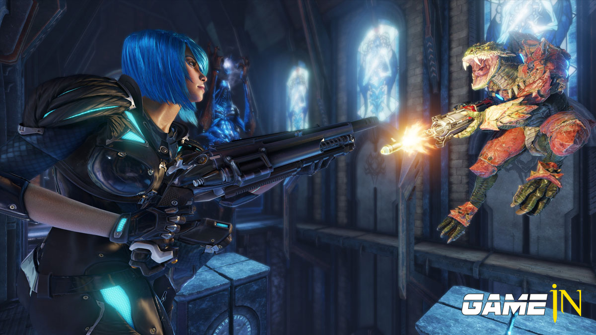 Nieuwe Molten Falls Arena nu Live In-game in Quake Champions Afbeelding 1
