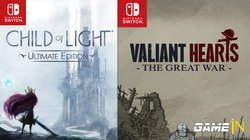 Child of Light & Valiant Hearts komen naar Nintendo Switch
