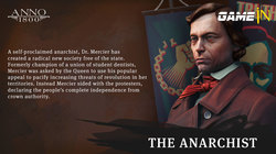 The Anarchist is nu beschikbaar in Anno 1800