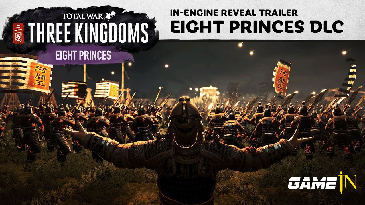 Nieuws over Familieruzie: De acht prinsen komen 8 augustus naar Total War: Three Kingdoms