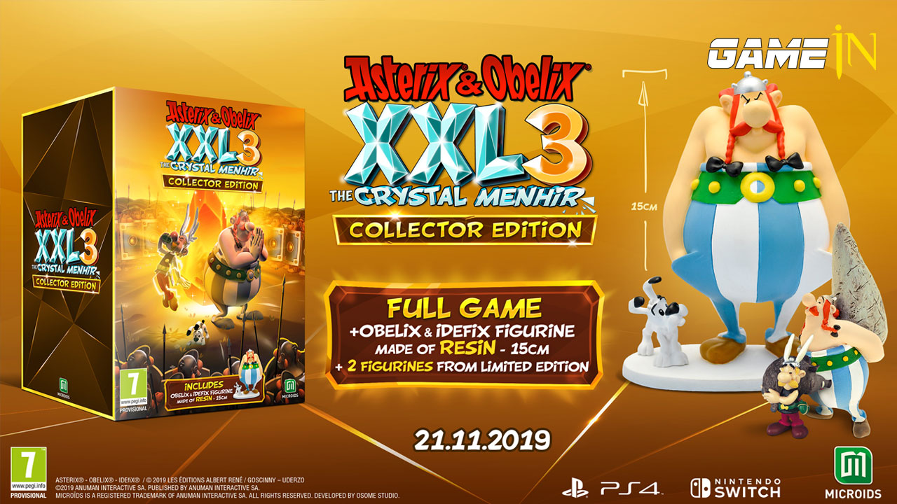Asterix & Obelix XXL 3 The Crystal Menhir verschijnt op 21 november voor PS4, Xbox One, Switch en PC Afbeelding 8