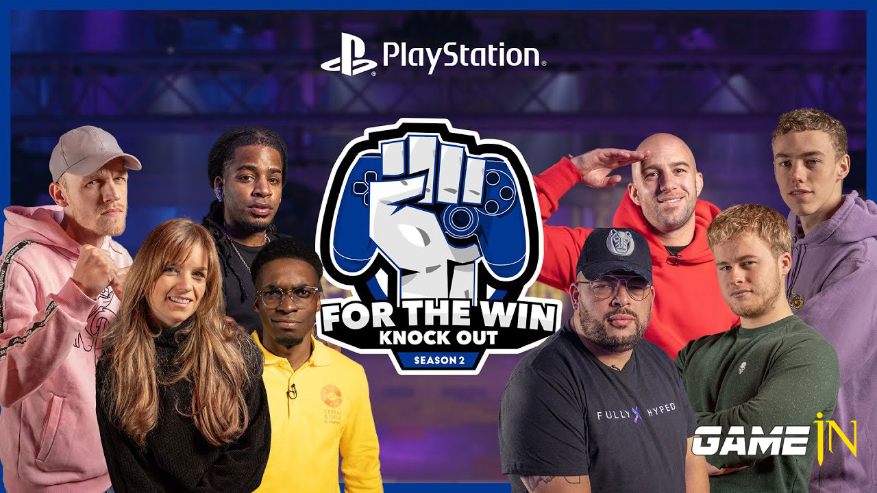 Nieuws over Sony PlayStation Benelux lanceert 2e seizoen For The Win: Knock Out!