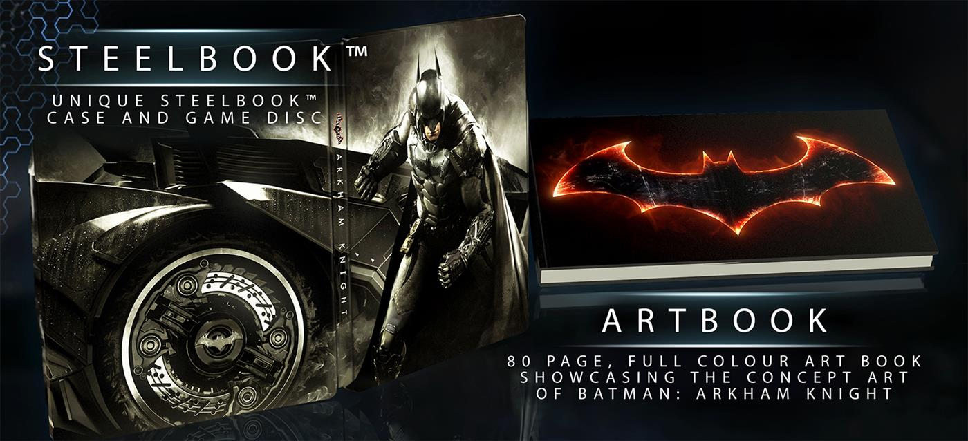 Batman Arkham Knight Batmobile Edition Xbox One Foto 2