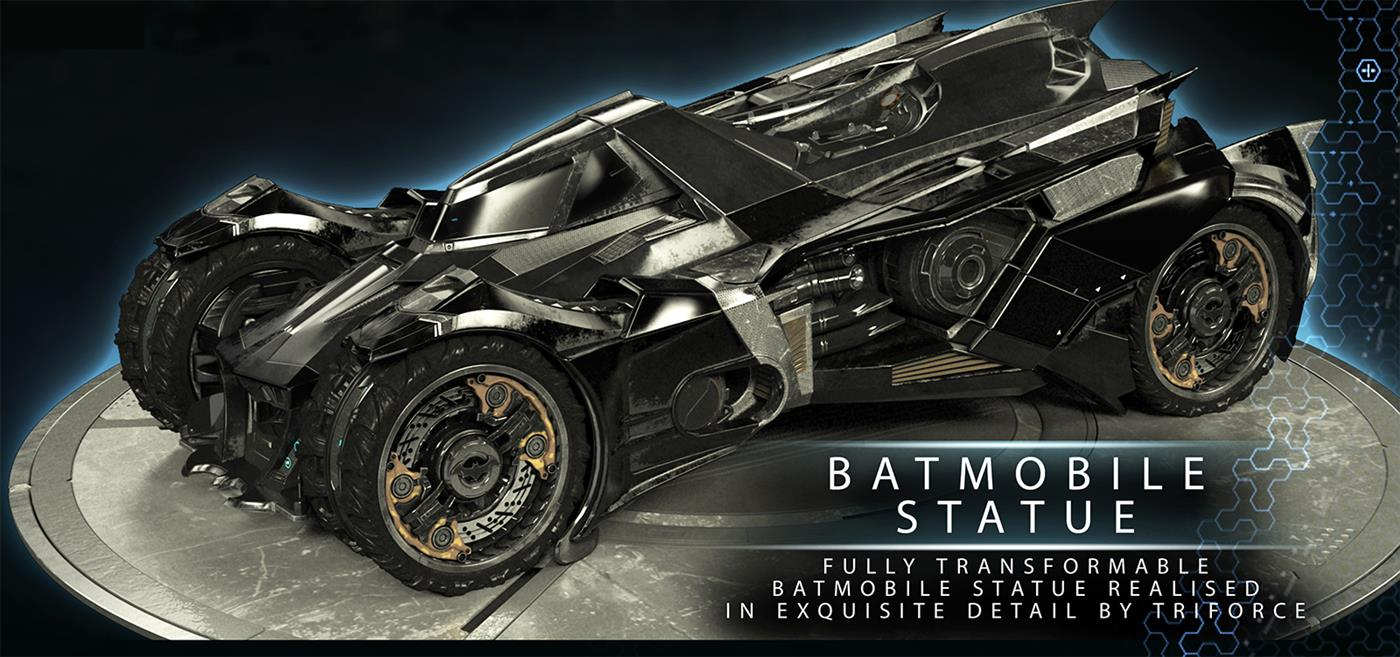 Batman Arkham Knight Batmobile Edition Xbox One Foto 4