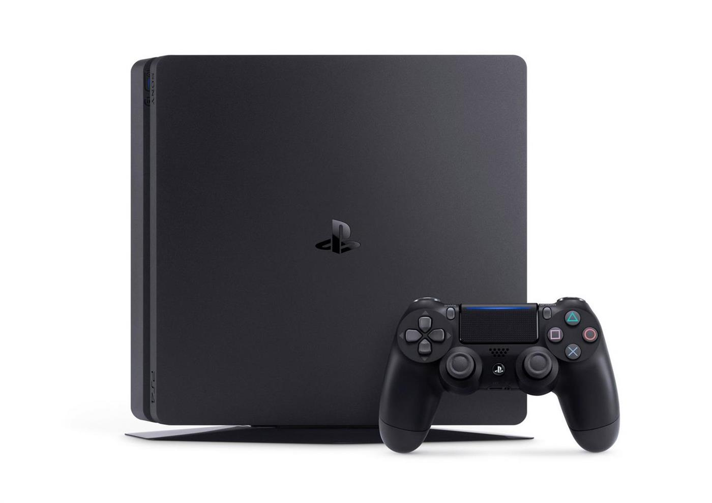 Sony Playstation 4 Console (Slim) 500 GB Zwart Foto 2