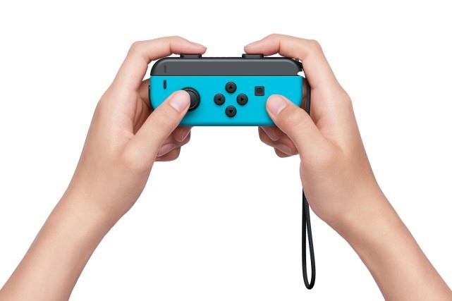 Nintendo Switch 32gb Spelcomputer Console (Rood Blauw) Foto 10