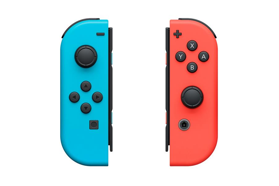 Nintendo Switch 32gb Spelcomputer Console (Rood Blauw) Foto 5