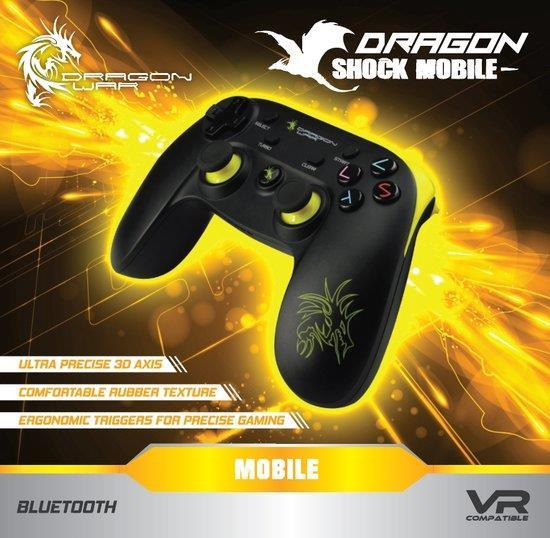 Dragon Shock Mobile Bluetooth Wireless Gamepad (PC + Android) Foto 2