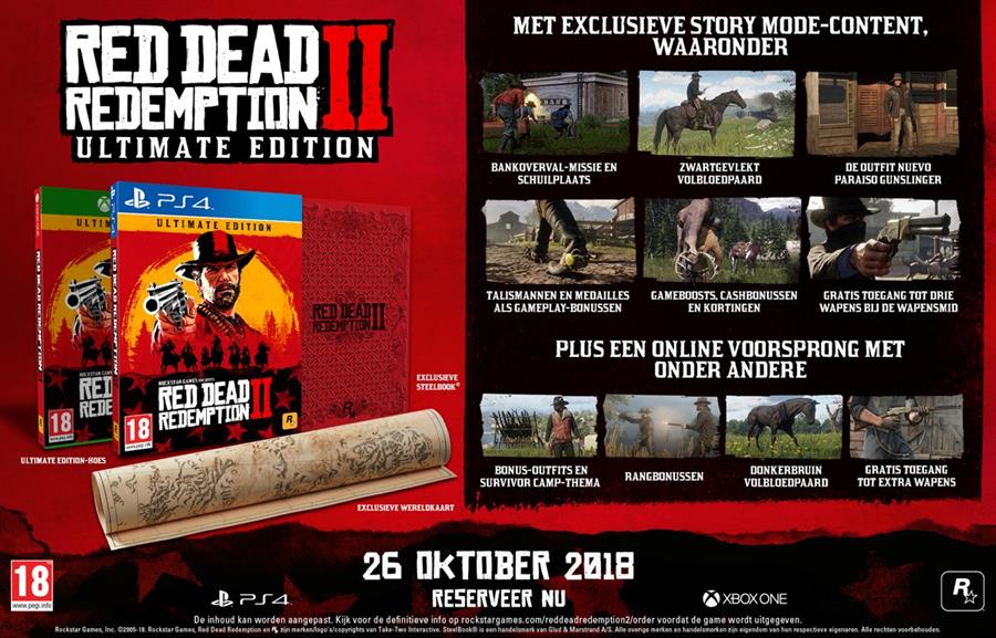 Red Dead Redemption 2 (Ultimate Edition) Xbox One Foto 2