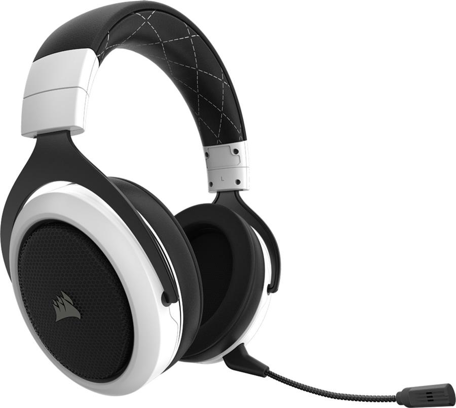 Corsair HS70 Surround Draadloze Gaming Headset Wit Foto 2