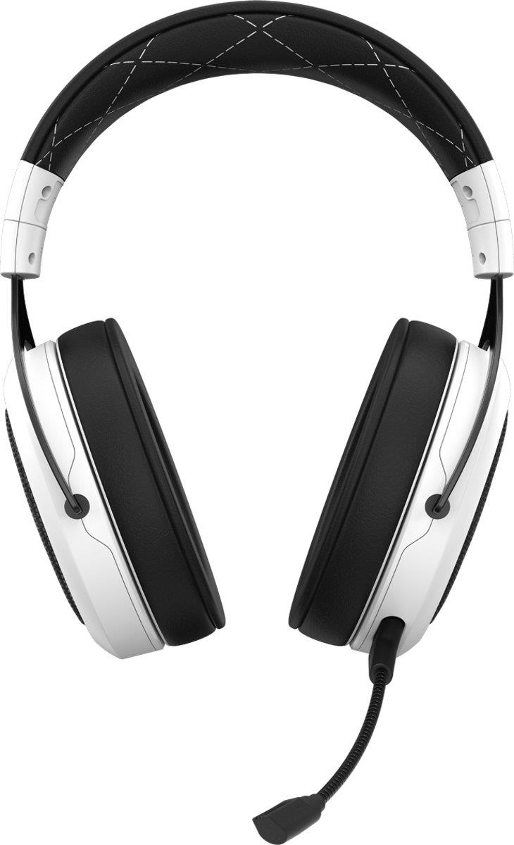 Corsair HS70 Surround Draadloze Gaming Headset Wit Foto 3