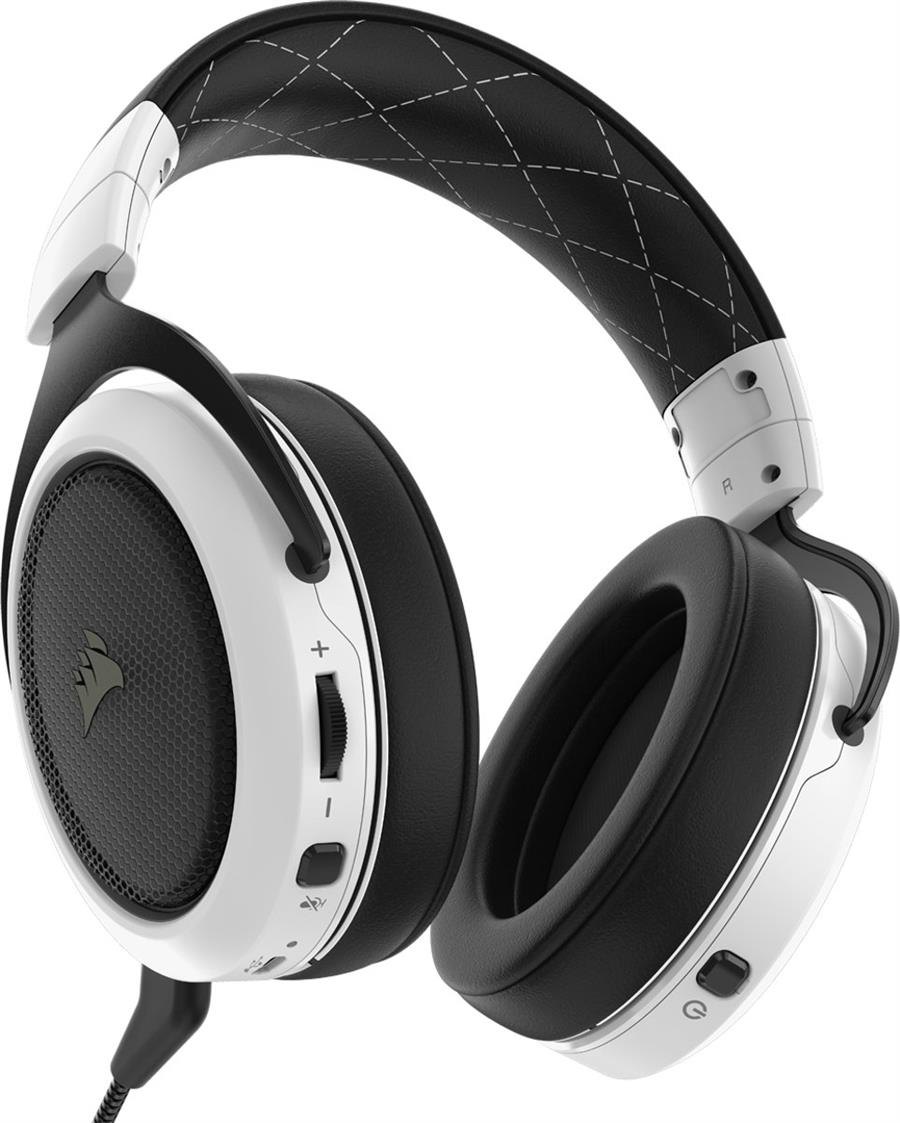 Corsair HS70 Surround Draadloze Gaming Headset Wit Foto 4