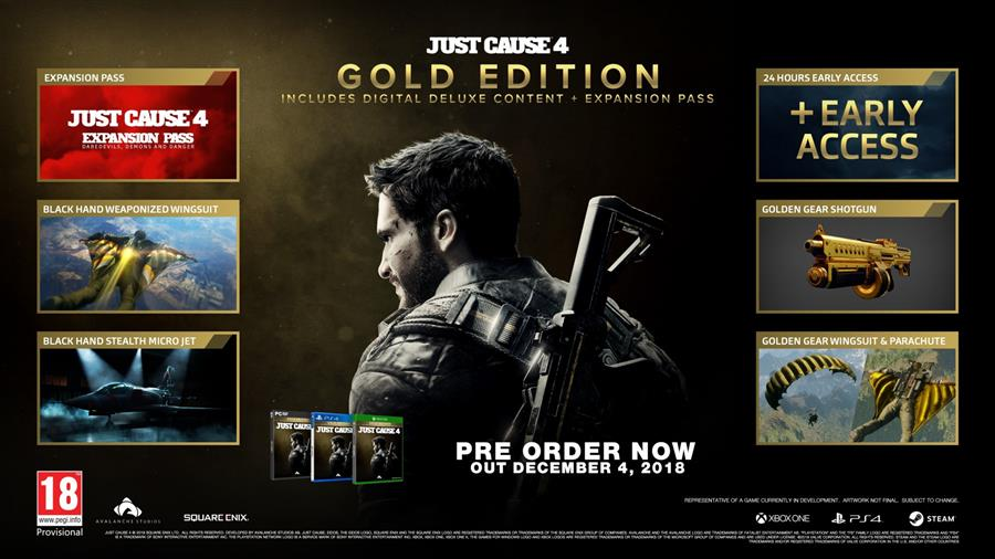 Just Cause 4 (Gold Edition) Playstation 4 Foto 2