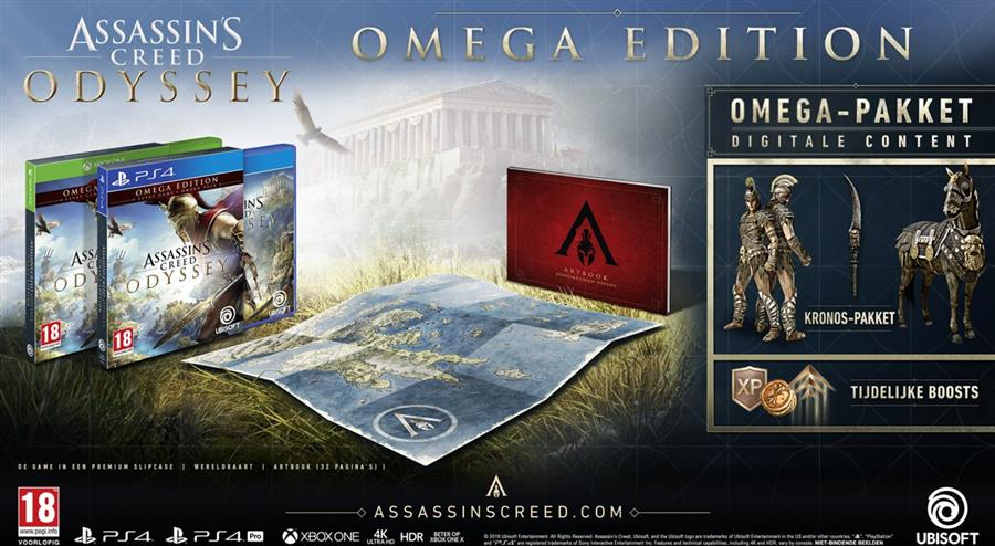 Assassin's Creed Odyssey (Omega Edition) Playstation 4 Foto 2