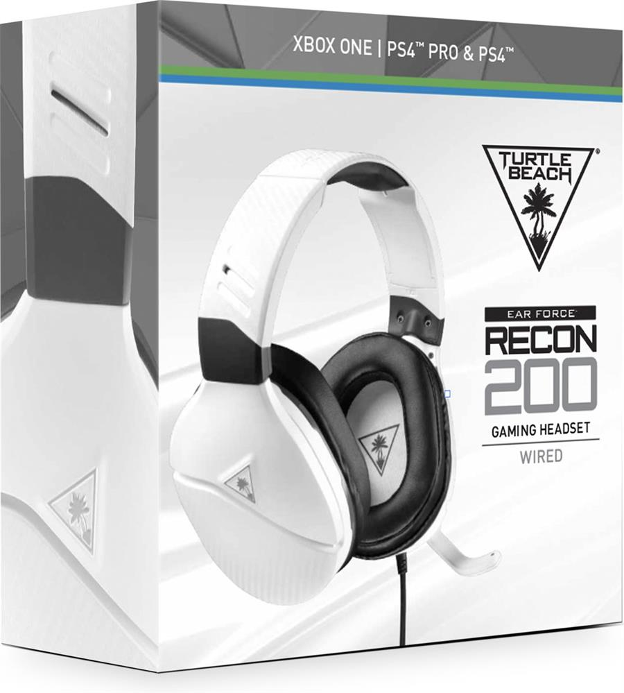 Turtle Beach Ear Force Recon 200 Wit (PS4, Xbox One, Switch, PC) Foto 6