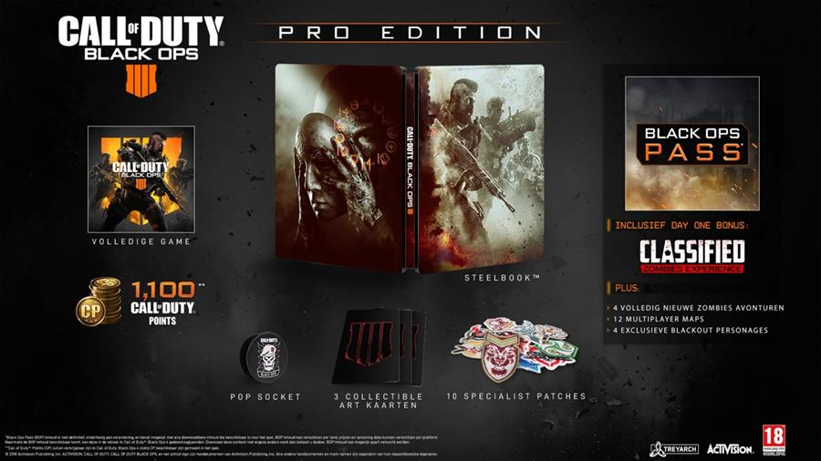 Call of Duty Black Ops 4 (IIII)  (Pro Edition) Playstation 4 Foto 2