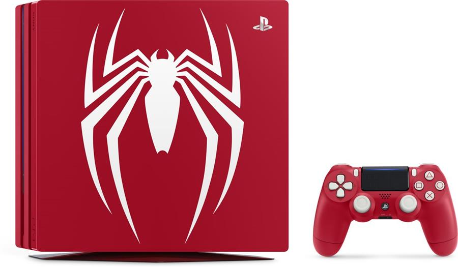 Sony Playstation 4 Console 1 TB (PRO) Marvel's Spider-Man Special Edition Foto 3