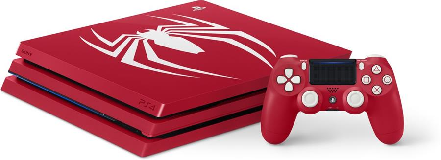 Sony Playstation 4 Console 1 TB (PRO) Marvel's Spider-Man Special Edition Foto 4