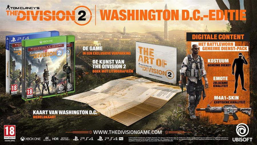 Tom Clancy's The Division 2 (Washington D.C. Edition) Playstation 4 Foto 2