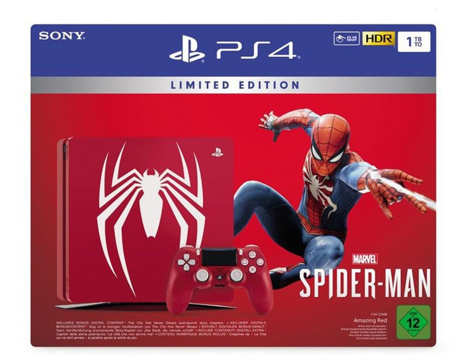 Sony Playstation 4 Console 1 TB (Slim) Special Edition Set Pack + Marvel's Spider-Man Foto 2