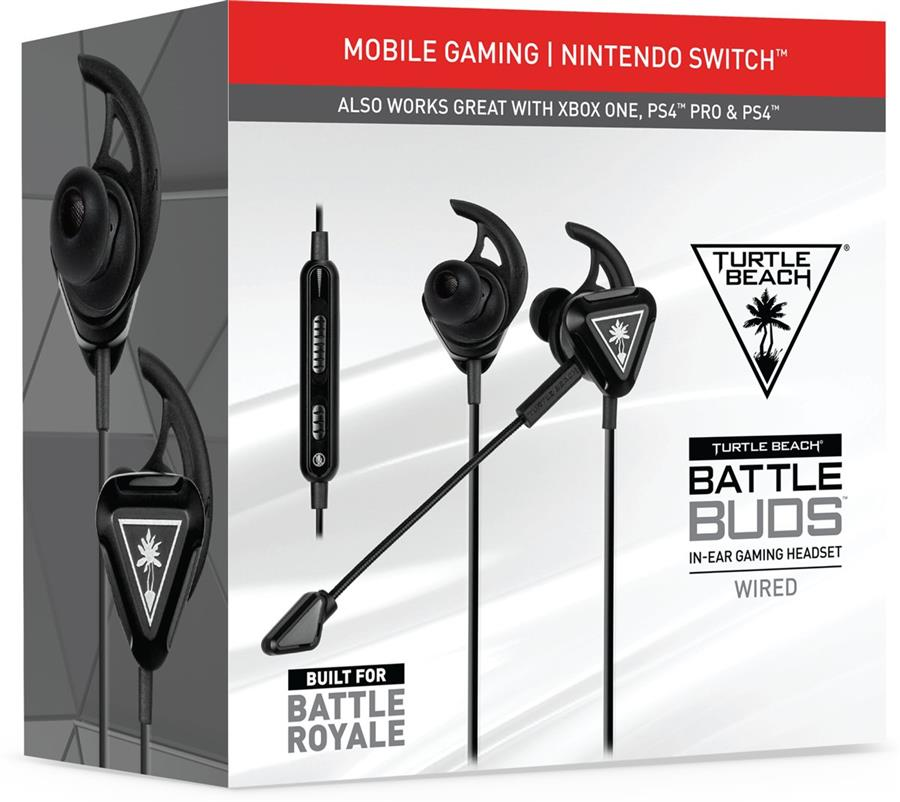 Turtle Beach Battlebud Headset Zwart (PS4 + Xbox One + Switch + PC) Foto 4