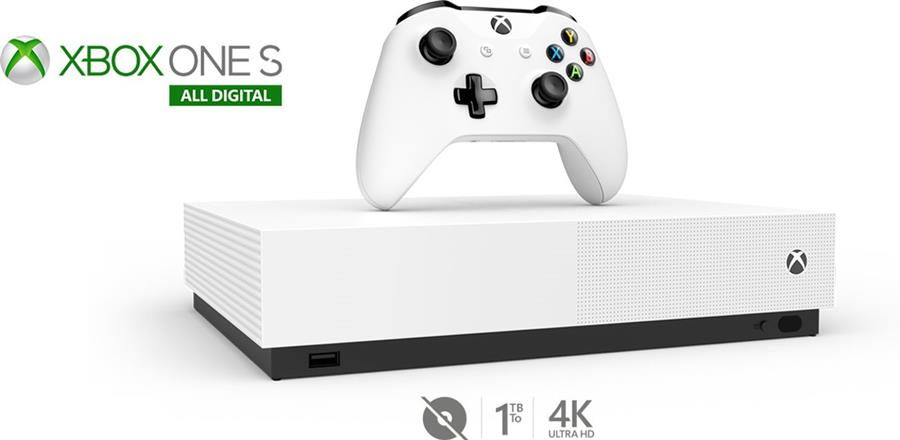 Microsoft Xbox One S  All-Digital Edition Console Wit (1 TB) + Minecraft + Sea of Thieves + Forza Horizon 3 Foto 5
