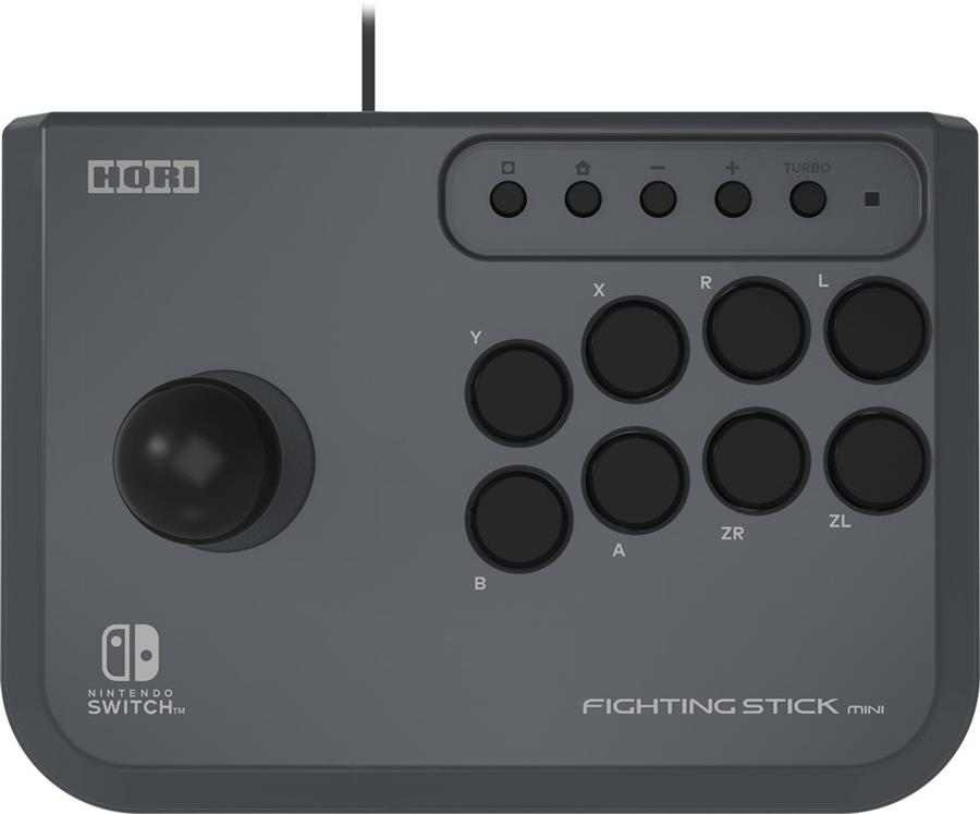 Fighting Arcade Stick Mini Zwart Hori  (Nintendo Switch + PC) Foto 3