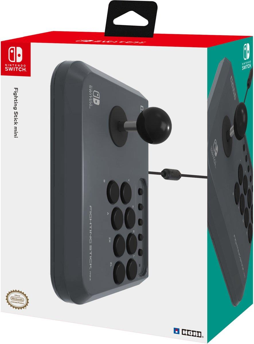 Fighting Arcade Stick Mini Zwart Hori  (Nintendo Switch + PC) Foto 6
