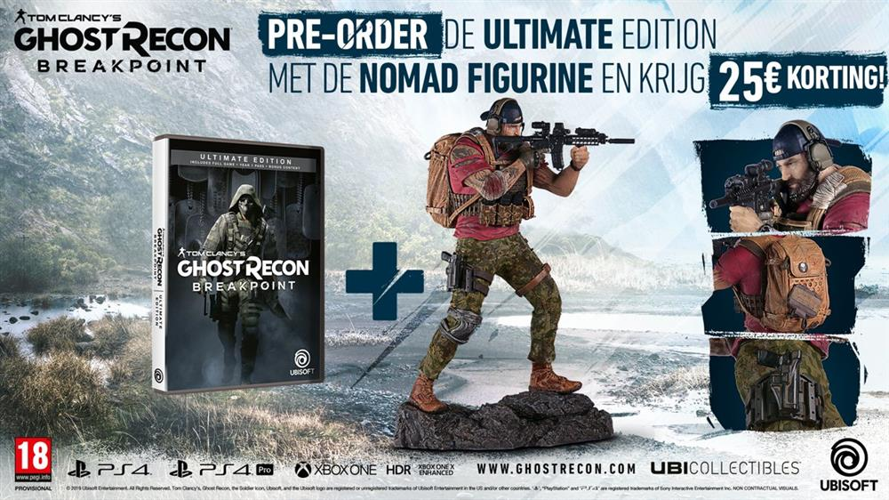 Tom Clancy's Ghost Recon Breakpoint (Ultimate Edition) Playstation 4 Foto 3