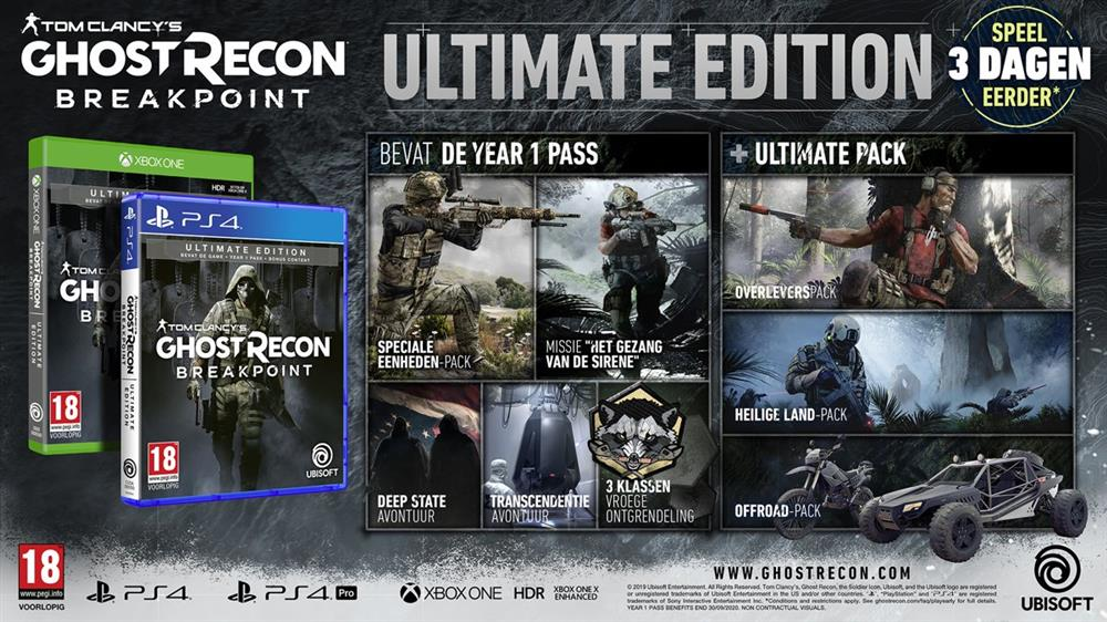 Tom Clancy's Ghost Recon Breakpoint (Ultimate Edition) Xbox One Foto 2