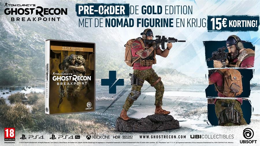 Tom Clancy's Ghost Recon Breakpoint (Gold Edition) Playstation 4 Foto 2
