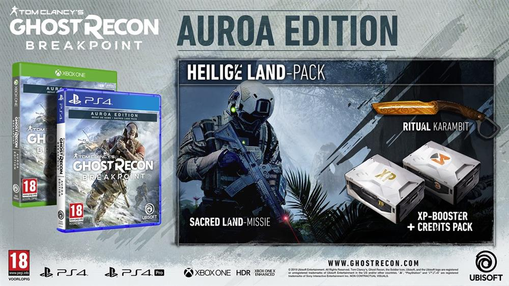 Tom Clancy's Ghost Recon Breakpoint (Auroa Edition) Playstation 4 Foto 2