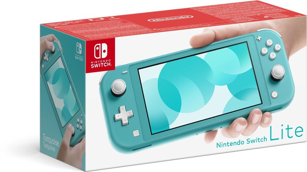 Nintendo Switch Lite Spelcomputer Console (Turquoise)