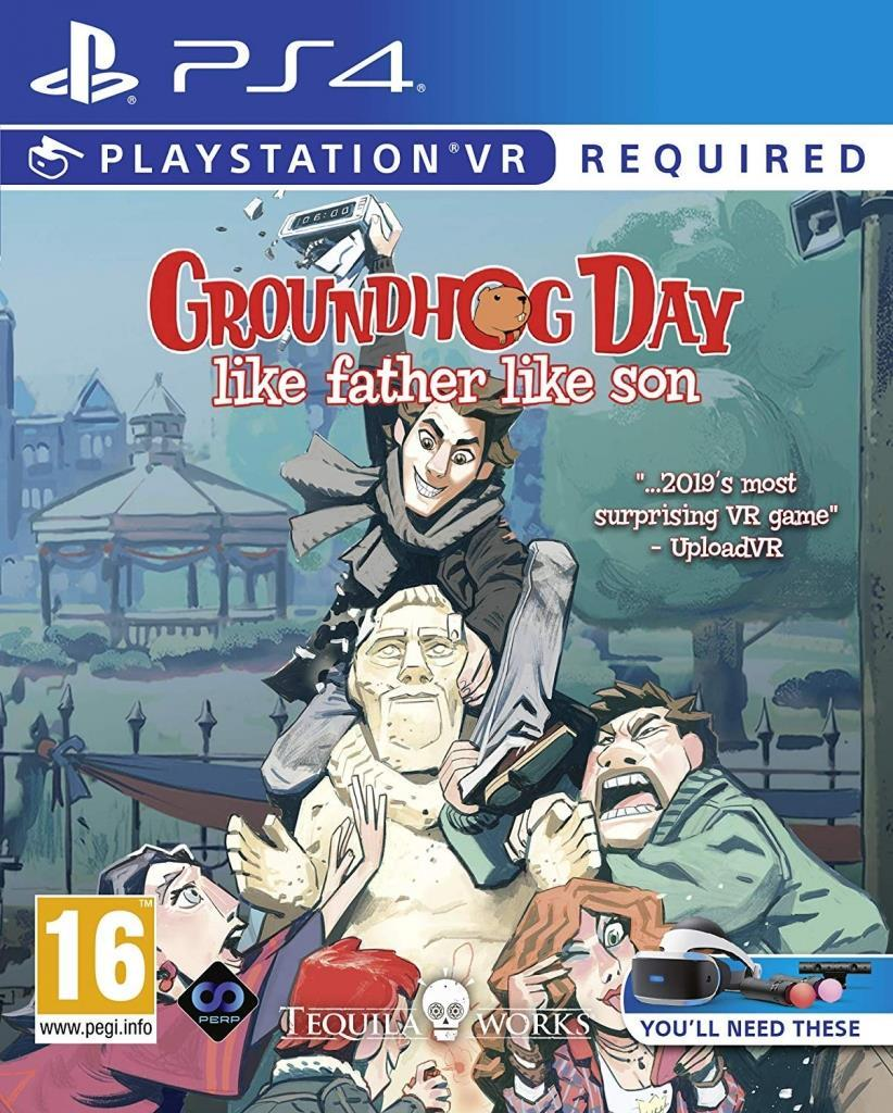 Groundhog Day Like Father Like Son (VR) Playstation 4