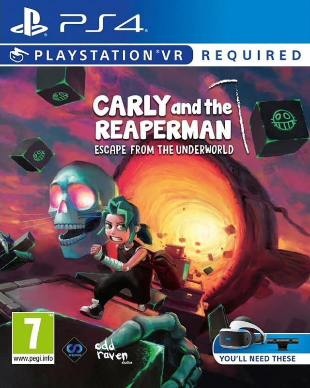 Carly and the Reaper Man Escape from the Underworld (VR) Playstation 4