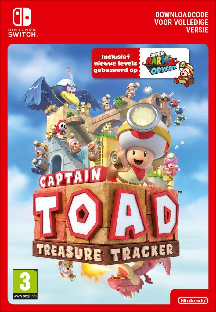 Captain Toad Treasure Tracker (Digitaal Code) Nintendo Switch