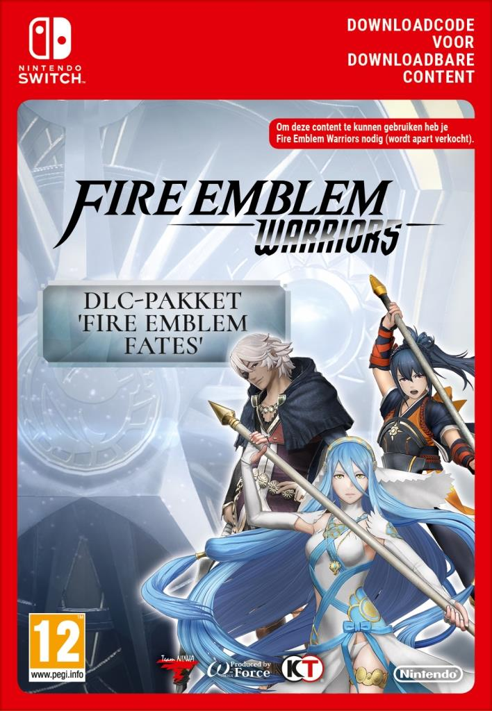 Fire Emblem Warriors Fire Emblem (Fates Pack - Digitaal Code) Nintendo Switch