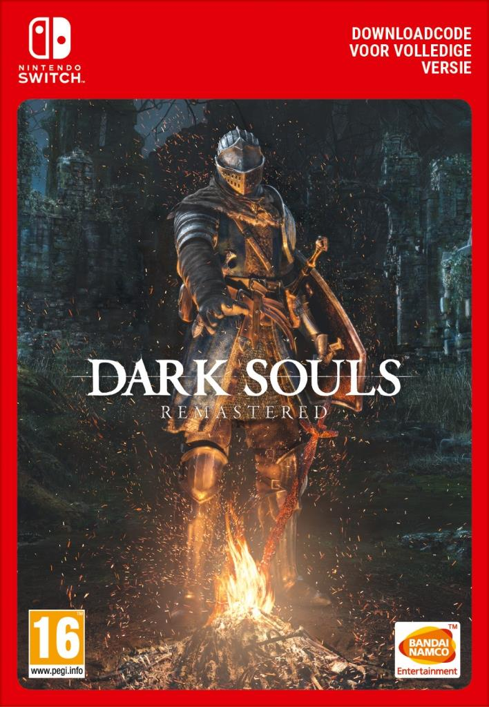 Dark Souls Remastered (Digitaal Code) Nintendo Switch