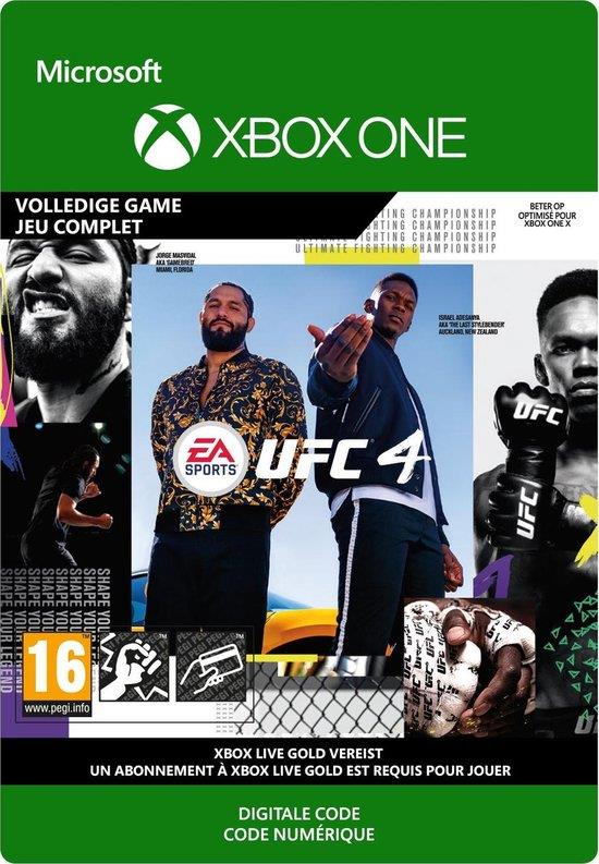 UFC 4 (Download Code) Xbox One