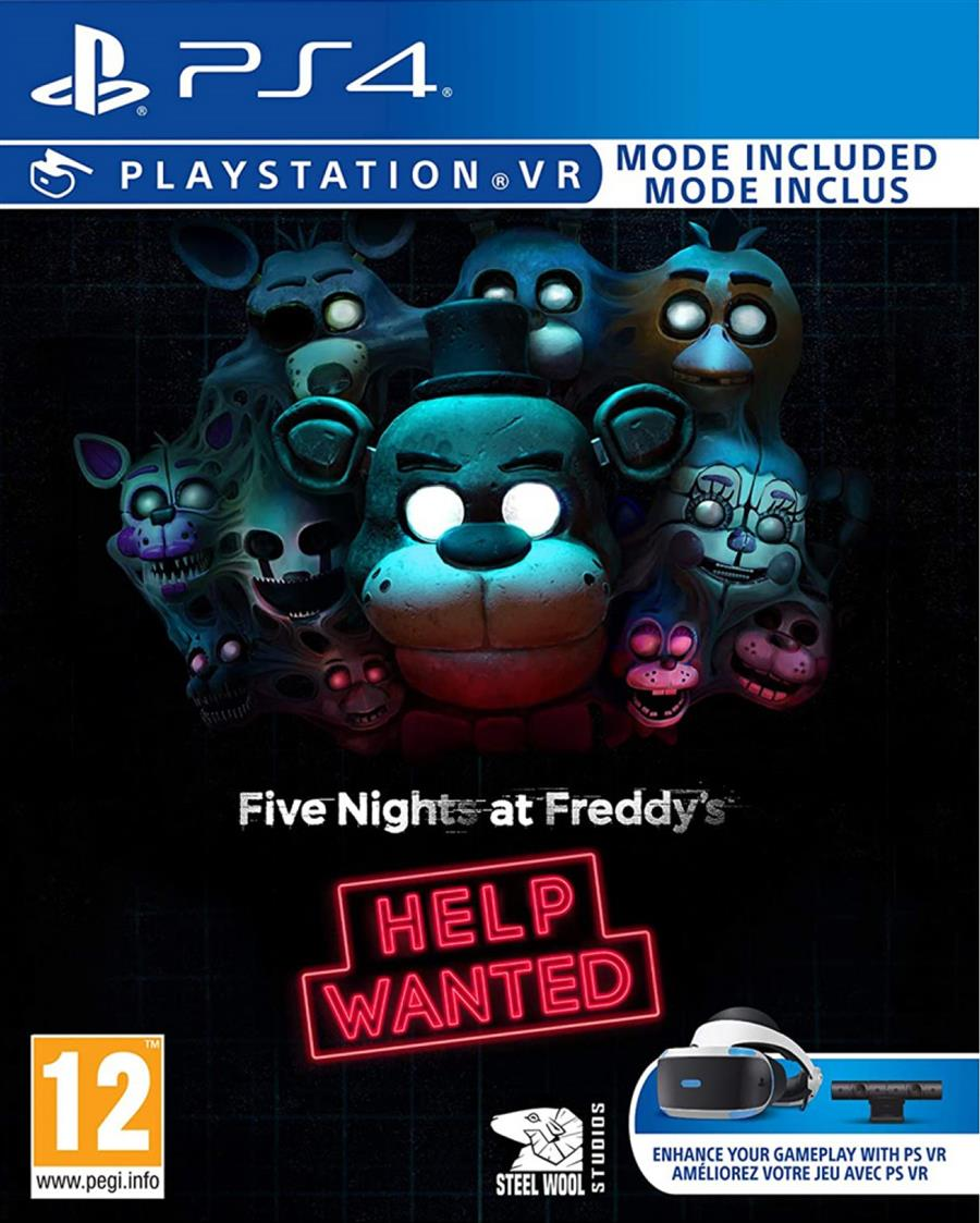 Five Nights At Freddy's Help Wanted (VR) Playstation 4