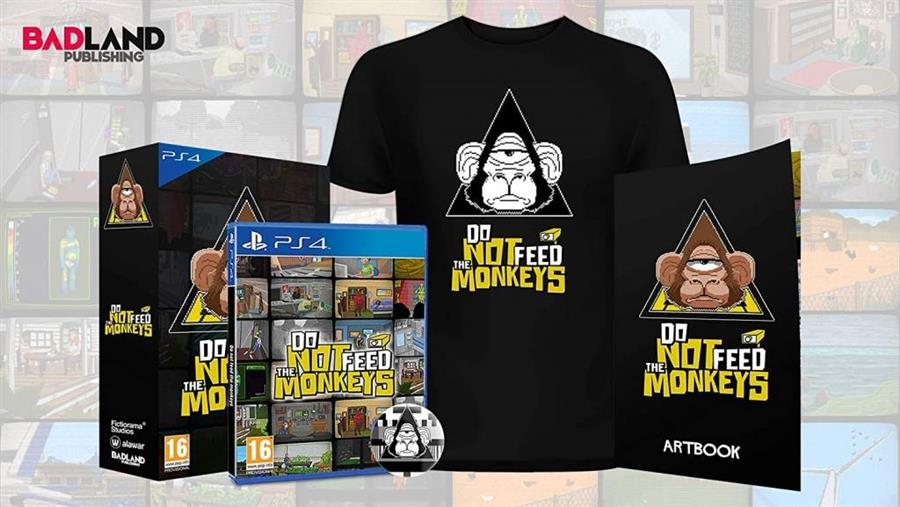 Do Not Feed the Monkeys (Collector's Edition) Playstation 4