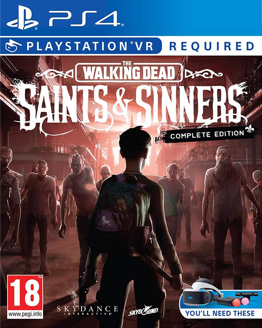 The Walking Dead Saints & Sinners Complete Edition (VR) Playstation 4