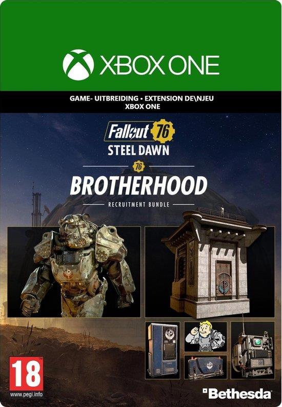 Fallout 76 Steel Dawn Brotherhood Recruitment Bundle (Download Code) Xbox One